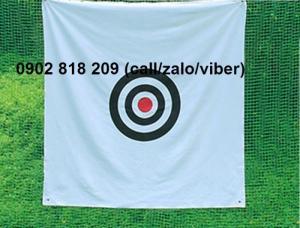 Tâm phát bóng golf, tâm golf mục tiêu, tâm golf