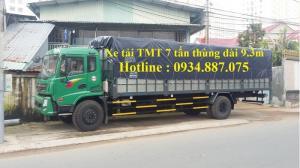 Xe tải cửu long tmt 7 tấn - 7t - 7 tân thùng siêu dài 9.3 mét - xe tải tmt 7 tấn thùng dài 9.3m