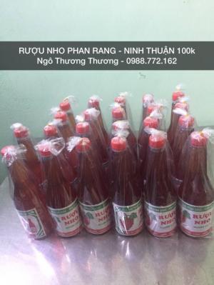 Rượu Nho Phan Rang Ninh Thuận