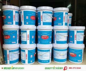 Đại lý bán sơn nước KOVA bán bóng K5500,K5501 giá rẻ