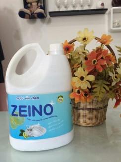 Nước rửa chén Zeino hương chanh