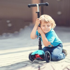 Xe trượt Scooter 3 bánh An Toàn Cho Bé, Gập gọn, bánh xe phát sáng