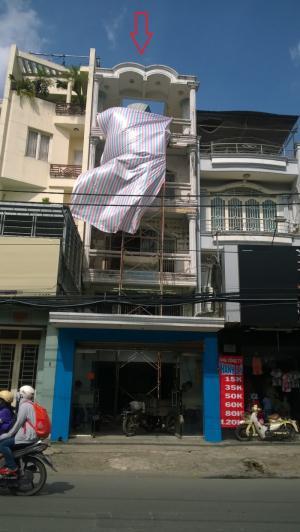 Nhà cho thuê MT Lạc Long Quân, p.9, Tân Bình...