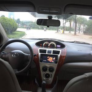 Tôi cần bán Chiếc xe oto TOYOTA VIOS 1.5E màu bạc SX 2011