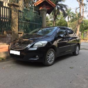 Tôi cần bán chiếc xe ô tô TOYOTA VIOS 1.5E màu Đen SX cuối 2011