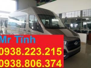 Xe khách hyundai 16 chỗ thaco mới nhất hyundai solati h350 mới nhất 2017 tp hcm