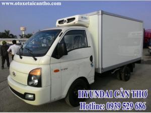 Hyundai h100 thùng đông lạnh cần thơ - xe tải hyundai 1 tấn đông lạnh