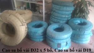 Hàng cao su Bố Vải D13- D250mm