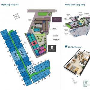 Căn Hộ 1 Phòng Ngủ Giá Rẻ Tại City Tower Bình...