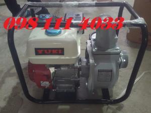 Máy bơm nước chạy xăng Yuki 80 bơm nước ao hồ đồng ruộng bơm tưới vườn