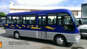 Xe 29 chỗ Hyundai County - Xe County 29 chỗ Thân dài XL - Giá Xe County rẻ nhất - Xe 29 chỗ giá rẻ nhất