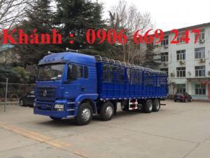 xe tải thùng shacman 4 chân tải trọng cao chất lượng vượt trội , xe tải shacman sự lựa chọn tốt nhất thị trường .