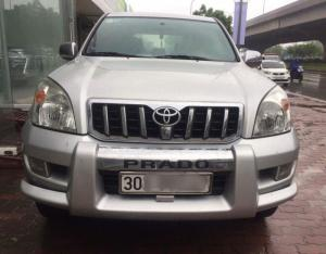 Bán Toyota Prado GX model 2008 màu bạc, chính chủ ít sử dụng, cực chất