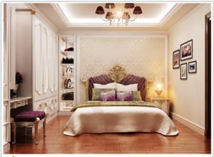 Giường ngủ cổ điển, giường ngủ phong cách châu âu