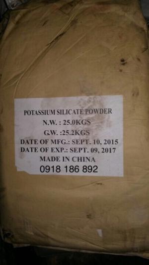 Phân bón Potassium Silicate  K2SiO3