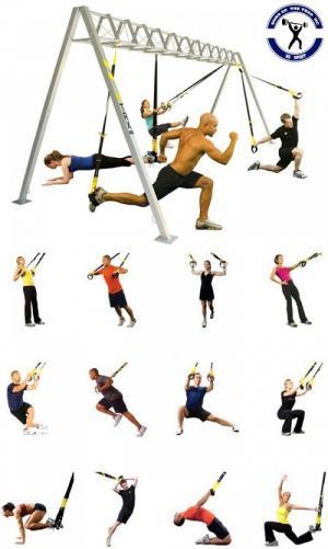 Phụ kiện tập gym - Bộ dây tập thể lực TRX P1 SUSPENSION
