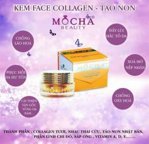 Kem Collagen Tảo Non Mocha