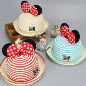 Nón Cối Cho Bé Tai Chuột Mickey