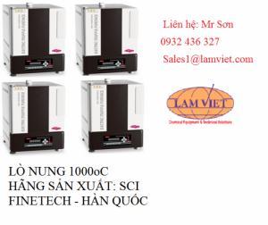 Lò Nung 1000Oc Hãng Sản Xuất: Sci Finetech - Hàn Quốc