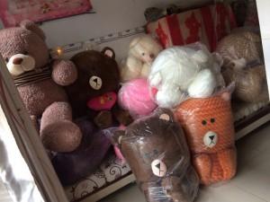 Thanh lý gấu bông quà lưu niệm