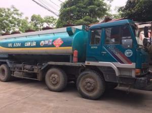 Mua Bán xe tec chở xăng dầu cũ - hết Date