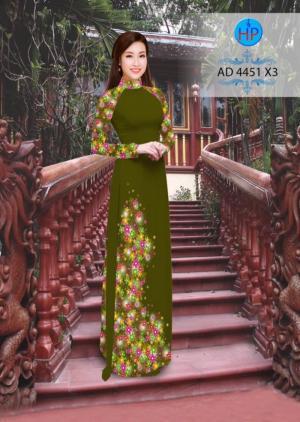 Vải áo dài AD 4451