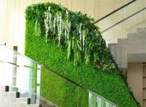 Tường cây giả, tường cây, tường cây giả tp hcm, vách cây giả hcm, vườn treo, tường trang trí