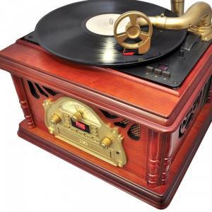 Máy nghe được tất cả các loại đĩa than với tốc độ vòng quay đĩa than : 33, 45, 78 RPM
