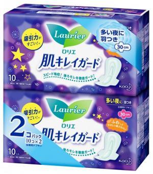 Băng vệ sinh đêm Laurier - Nội địa Nhật Bản (10 miếng)