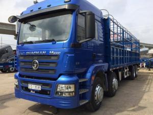 Xe tải 4 chân Shacman 17,97 tấn nhập khẩu nguyên chiếc
