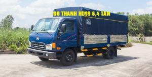 Hyundai HD99 6.5 Tấn Đô Thành - Thùng Bạt, Khuyến mại lệ phí trước bạ