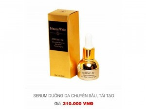 Serum 3In1 Princess White
