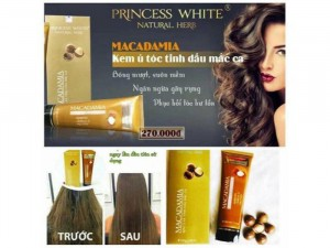Ủ Tóc Macadamia Princess White