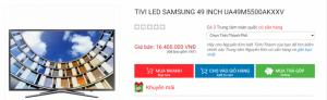Smart TV Full HD 49 inch M5500 SAMSUNG