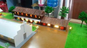 Làm mô hình kiến trúc nhà dòng Bùi Môn