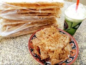 Bánh tráng mắm ruốc Đà Lạt