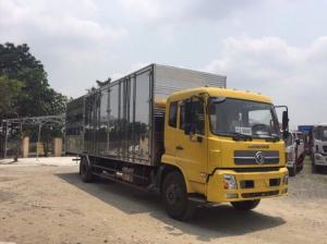 Xe tải Dongfeng 6.7 tấn - df 6t7 - dongfeng 6 tấn 7 thùng kín dài 9.3 m, nhập khẩu nguyên chiếc .