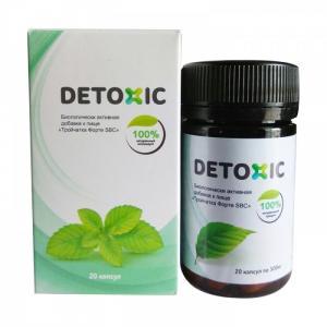 Detoxic Viên uống hỗ trợ cải thiện tiêu...