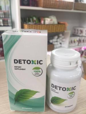 Detoxic Viên uống hỗ trợ cải thiện tiêu hóa, tăng cường sức khỏe
