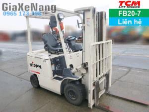 Xe nâng điện ngồi lái TCM FB20-7 - 2012, Xe...