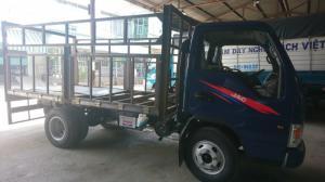 Xe tải JAC 2.4T lên thùng từ xe chassis