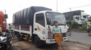 Xe tải veam 2 tấn 5,công nghệ isuzu,hổ trợ các tỉnh