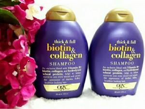 Dầu gội làm dày tóc Biotin và Collogen