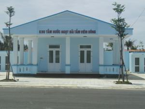 Bãi tắm Viêm Đông khu trung tâm của Điện Ngọc