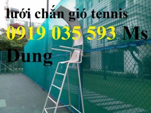 Lưới che sân tennis cung cấp lưới bao quanh sân tennis lưới chắn bóng tennis bay ra ngoài lưới pe pp