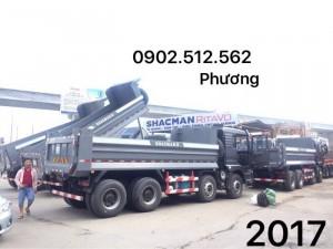 Tại Bình Phước, chương trình khuyến mãi lớn nhất năm xe ben shacman 2017