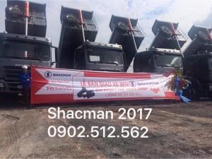 Nếu bạn ở vũng tàu muốn mua xe ben chính hãng 2017 thì hãy đến shacman rita võ