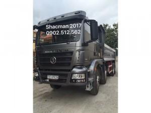 Dân Long An phát cuồng với xe ben ShacMan 2017 của Rita Võ