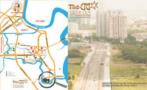 Vị trí căn hộ The Era Premium Quận 7 cách PMH 300m