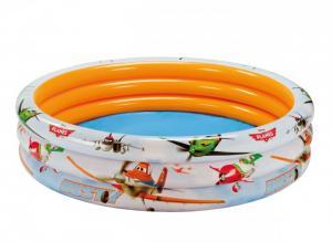 Bể bơi phao, hồ bơi phao 3 tầng có hoa văn hình máy bay trong bộ phim hoạt hình Vương Quốc Máy Bay